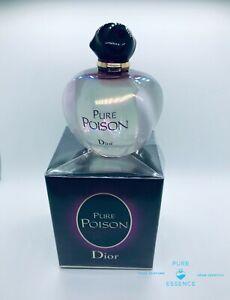 Christian Dior Pure Poison 3.4 Eau de Parfum 3.4Oz Female 100ml *NEW* *ORIGINAL*