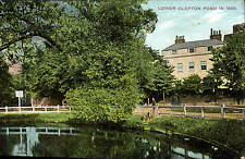 Lower Clapton Pond in 1880 by Charles Martin.