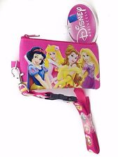 Disney Princess And Friends Detachable Coin Pouch/Wallet & Lanyard-New!version2