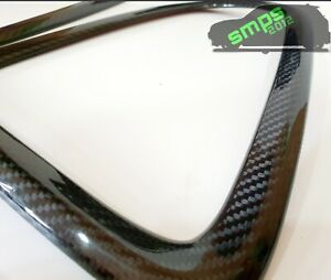 Mini Gen 2 Cooper S JCW R56 Rear Taillight covers Genuine Carbon Fiber