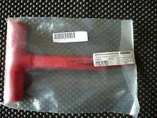 GEDORE 2661225 4mm VDE Insulated Hex T-Handle Allen Key