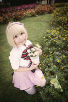Ao no/Blue Exorcist Shiemi Moriyama School Uniform Anime Cosplay Costume C018