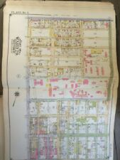 "1924, Greenpoint, BROOKLYN New York E. BELCHER HYDE ATLAS MAP 18""X27"""