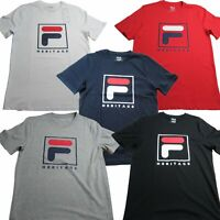 Fila Mens Heritage Tee Short Sleeve T-Shirt