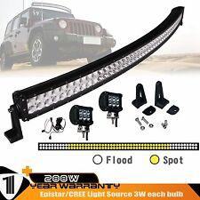 50INCH 288W Combo LED Bar Lights+2PCS 4INCH 18W Spot LED Lights+Wiring Harness