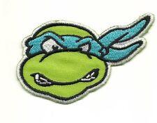 Teenage Mutant Ninja Turtles LEONARDO Embroidered Iron On / Sew On Patch