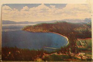 Nevada NV Lake Tahoe Glenbrook Bay Postcard Old Vintage Card View Standard Post