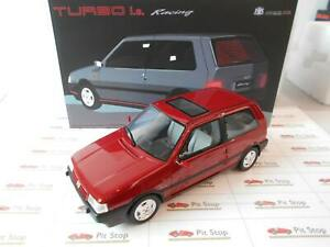 LM104E by LAUDORACING MODEL FIAT UNO TURBO RACING 1992 1/18