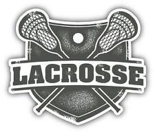 """Lacrosse Sport Car Bumper Sticker Decal 5"""" x 4"""""""