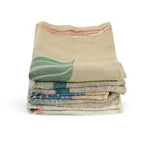 Coffee Bean Hessian Sacks - Recycled Biodegradable Multipurpose Jute Bags