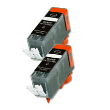 2 BLACK Replacement Ink + chip for PGI-225BK MG5120 MG5220 MG5320 MX882 MX892