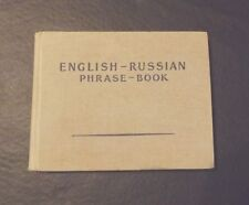 ENGLISH RUSSIAN PHRASE BOOK COMPILED BY S.V. NEVEROV HARDCOVER 1960 5TH EDITION