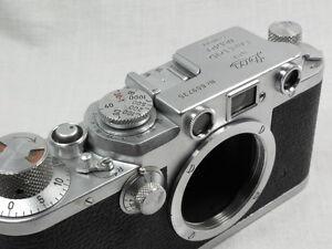 VINTAGE LEICA IIIF/III-f 35mm CAMERA BODY EXCELLENT