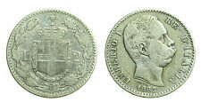 pcc1378_21) Regno Umberto I (1878-1900) Lire 2 Stemma  1883