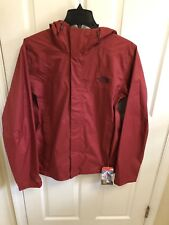 NEW THE NORTH FACE MENS VENTURE 2 WATERPROOF JACKET RED SMALL