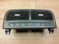 FIAT GRANDE PUNTO 05-09 CENTRE DASHBOARD AIR VENTS AND SWITCH 735394582