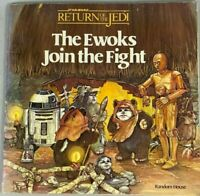 """STAR WARS RETURN OF THE JEDI, """"THE EWOKS JOIN THE FIGHT"""" PAPERBACK 1983 VINTAGE"""