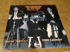 Rat Pack - Dean Martin/Jerry Lewis  Special Edition Calendar 2000