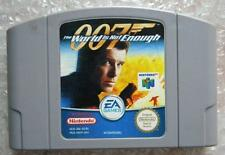 007 THE WORLD IS NOT ENOUGH NINTENDO 64 PAL SOLO CARTUCCIA GIOCO