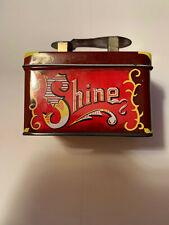 "Vintage Small 5 Cents Shoe Shine Tin (3.5""x2.5""x2.5& #034;)"