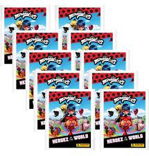 Panini Miraculous Ladybug Heroez in the World Sticker – 10x Sticktertüten