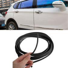 5m Car Anti Collision Side Door Edge Rubber Bumper Protection Sticker Strip BK
