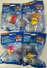 Lot of 4 Paw Patrol Mini Figures Marshall Chase Skye Rubble/Ruben by Spin Master