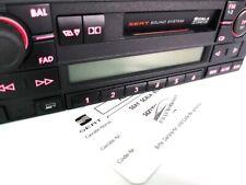Original  Seat  Scala Sound System Rarität  Autoradio