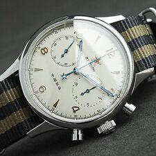 SEAGULL 1963 40MM Luminous Sapphire Chronograph Mechanical Mens Watch SU1962SW