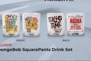 loot crate SpongeBob SquarePants drink set-Juice glasses