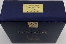 ESTEE LAUDER 1C1 COOL BONE DOUBLE WEAR MAKEUP TO GO LIQUID COMPACT NEW IN BOX