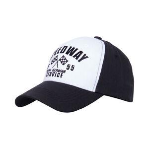 King Kerosene Speedway Trucker Cap Black/White SIZE S/M