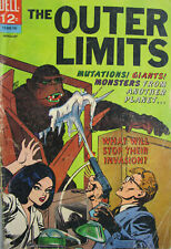 The Outer Limits #11 Dell Comics 1967 Silver Age Sci Fi VG/GD Giants! Monsters!