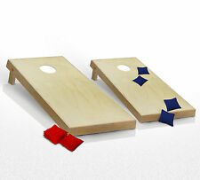 CORNHOLE BOARDS JUNIOR GAME SET Bean Bag Toss + 8 Bags ~ Office Dorm Games