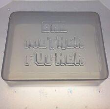 Bad Mother Fu%@er Wallet Flexible Plastic Soap or Bath Bomb Mature Mold