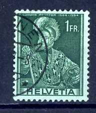 SWITZERLAND - SVIZZERA - 1941 - Colonello Ludwig Pfyffer (1524-1594). B3474