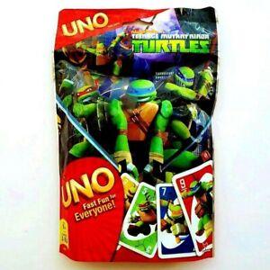 UNO Teenage Mutant Ninja Turtles Card Game New Mattel