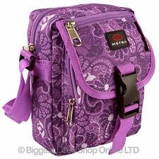 Ladies Girls Multi Purpose Compact Shoulder/Travel Cross Body BAG by Metro