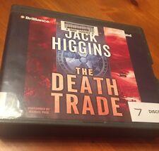 The Death Trade,bestselling suspense author Jack Higgins, 2013 u/a CD audiobook