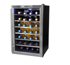 Wine Refrigerator Thermoelectric Stainless Steel Electronic Touchpad Control