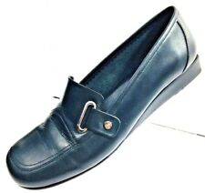 Etienne Aigner Womens Leather Flats Shoes Slip Ons Size 6.5M