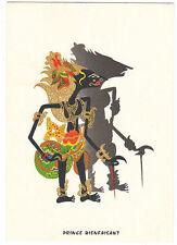 Carte postale publicitaire Laboratoires FRAYSSE : marionnette de Bali Prince