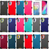 Defender Case W/Screen For Samsung Galaxy Note 10+ Plus(Belt Clip Fits Otterbox)