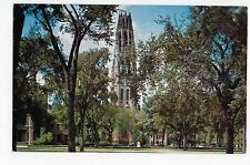 Vintage Postcard New Haven Connecticut Yale University Harkness Memorial Tower