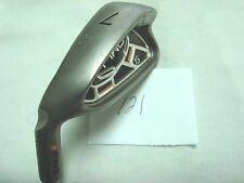 Nice LH Ping G15 7 iron orange dot 2.25* flat Ping AWT stl shaft reg flex -1/2""