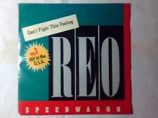 """REO SPEEDWAGON Can't fight this feeling 7"""" HOLLAND"""