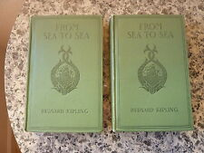 From Sea to Sea by Rudyard Kipling. First edition, preceding the British edition