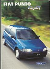 FIAT PUNTO CULT SPECIAL EDITION SALES BROCHURE + SPECS  1998  GERMAN LANGUAGE