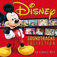 DISNEY SOUNDTRACKS COLLECTION ( NEW CD ) 20 WALT DISNEY SOUNDTRACK SONGS 2013