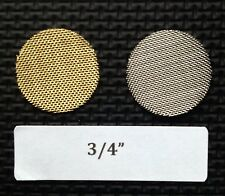 3/4 inch brass tobacco pipe screen filter - 10 count - high quality - 0.75""